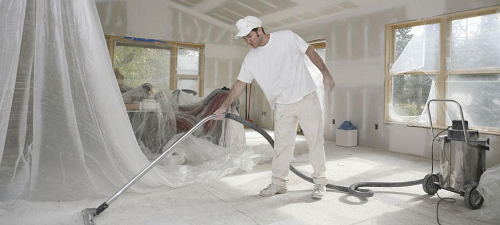 Curățenie post constructor