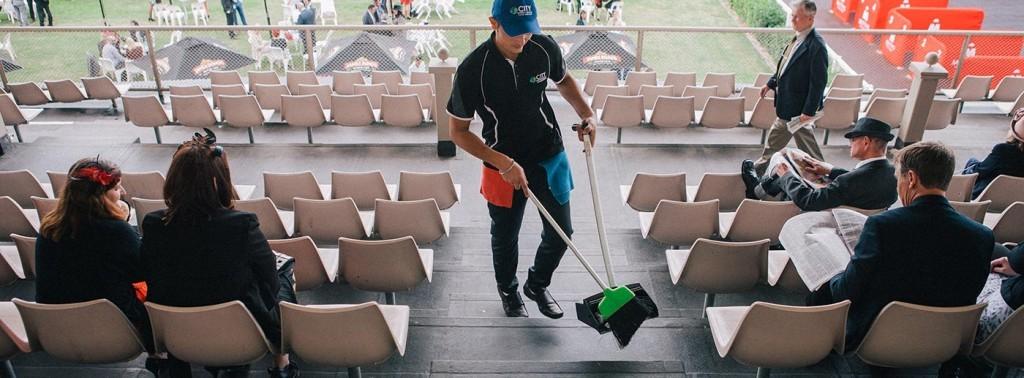 Curățenie în timpul și după evenimente